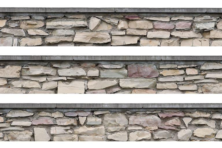 Corak batu alam yaitu batu gamping yang juga dimiliki oleh Clayxible